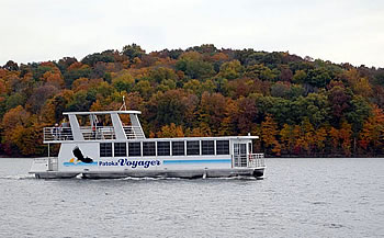 Fall Foliage Wine Tours on Patoka Lake